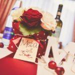 Confetto n° 23. Matrimonio bordeaux tra passione ed eleganza