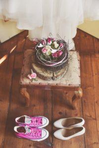 scarpe sportive da sposa