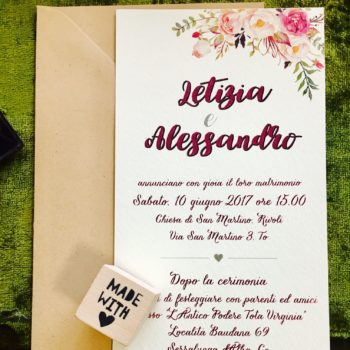 come scrivere una partecipazione di matrimonio