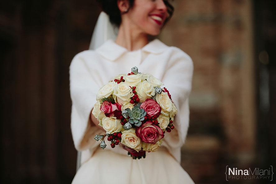 Bouquet Sposa Natale.Bouquet Da Sposa Dicembre Bouquet Sposa Dicembre